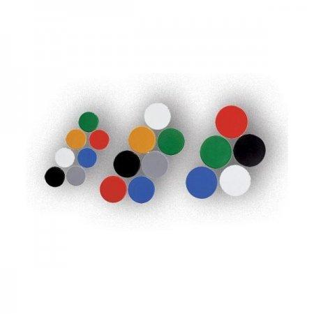 magnety Arta černé 25mm, 10ks