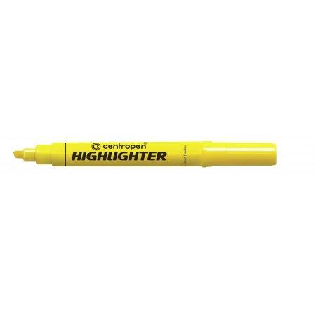 Zvýrazňovač Centropen 8552, žlutý