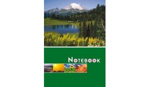 Kniha záznamní lepená, A4 / linka / 100 listů