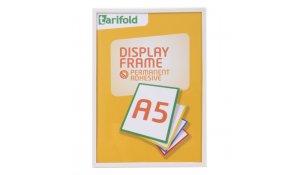 Display Frame samolepící rámečky A5 bílé, 10ks