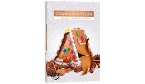 Vonná čajová svíčka Grandma's kitchen 6 ks v krabičce