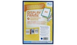 Display Frame samolepící rámečky A4 modré, 5ks