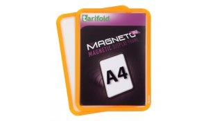 Magneto Solo - magnetický rámeček A4, oranžový - 4 ks