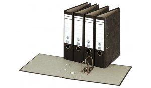Pořadač pákový A4, Basic mramor, hřbet 8cm