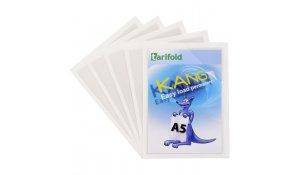 Kang Easy Load - samolepicí kapsy, A5, permanentní, transparentní - 5 ks