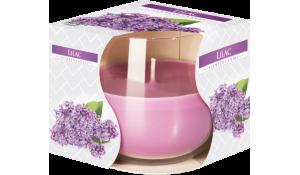 Vonná svíčka Šeřík Lilac ve skle