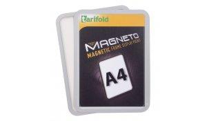 Magneto - magnetický rámeček A4, stříbrný - 4 ks