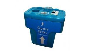HP C8771E - kompatibilní cartridge 363XL cyan