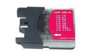 Brother LC-1100M - kompatibilní cartridge, LC-980M, LC-1100M
