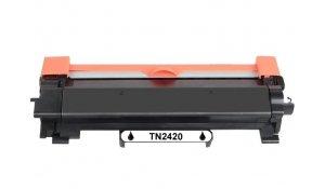 Brother TN-2420 - kompatibilní černý toner s čipem (3000str.)