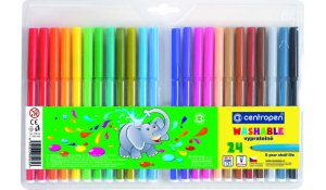 barevné popisovače fixy centropen 7790, sada 24ks