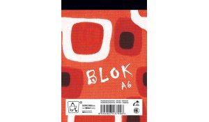 blok lepený A6, 50 listů