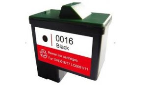 Lexmark 10N0016 - kompatibilní cartridge, No.16 black, XL kapacita