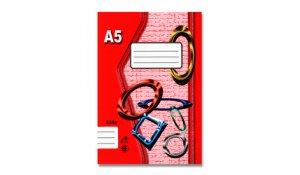 Sešit 524, formát A5, 20 listů, linkovaný