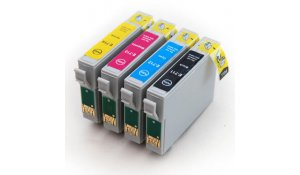 Epson T0715 - kompatibilní sada 4barev T0895 s čipem