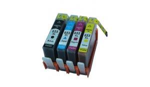 HP CZ109A + CZ110A + CZ111A + CZ112A - kompatibilní sada cartridge s hp 655 všechny barvy