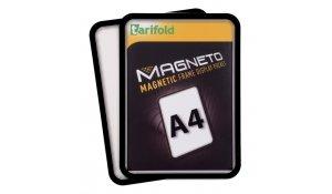 Magneto - magnetický rámeček A4, černý - 4 ks