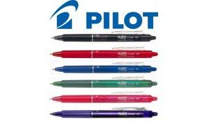 Přepisovatelné pero Pilot Frixion Clicker modrá, hrot 07 - gumovatelné pero