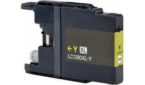 Brother LC1280XLY - kompatibilní cartridge žlutá
