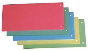 Rozlišovací kartonové jazyky - barevný mix / 50 ks