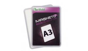 Magneto kapsa SOLO A3 stříbrná magnetická, 2ks