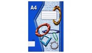 Sešit 460, formát A4, 60 listů bez linek
