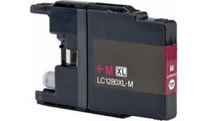 Brother LC1280XLM - kompatibilní cartridge červená