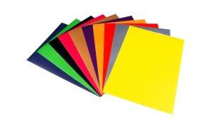 Barevný papír A3, 180g, 10 listů