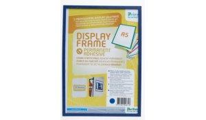 Display Frame samolepící rámečky A5 modré, 10ks