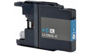 Brother LC1280XLC - kompatibilní cartridge modrá