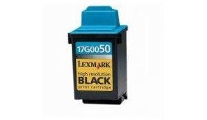 Lexmark 17G0050E - kompatibilní cartridge s lexmark 50 black