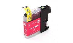 Brother LC125XL M - kompatibilní cartridge červená, XL kapacita s novým čipem