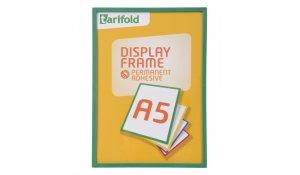 Display Frame samolepící rámečky A5 zelené, 10ks
