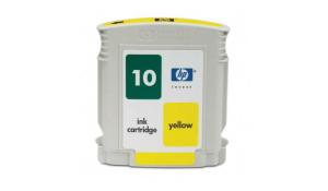 HP C4842A - kompatibilní cartridge s hp 10 yellow