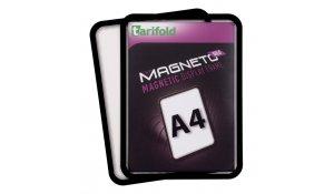 Magneto Solo - magnetický rámeček A4, černý - 4ks