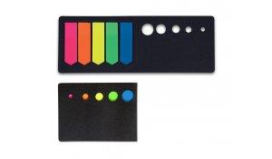 Samolepicí záložky CONCORDE šipky neon 13x45mm, 5x20 listů