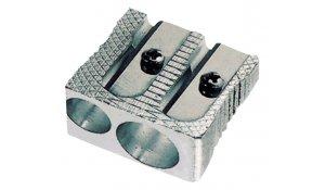 Ořezávátko kovové na 2 velikosti tužek