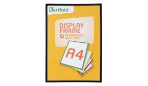 Display Frame samolepící rámečky A4 černý, 5ks