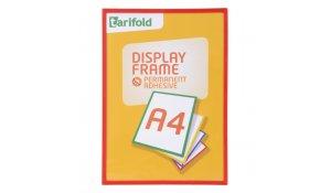 Display Frame samolepící rámečky A4 červené, 5ks