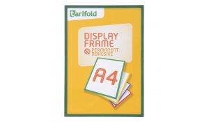 Display Frame samolepící rámečky A4 zelené, 5ks