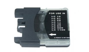 Brother LC-1100Bk - kompatibilní cartridge, LC-980BK, LC-1100BK