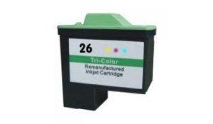 Lexmark 10N0026 - kompatibilní cartridge No. 26 color XL kapacita