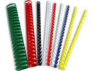 Kroužkový hřbet bílý plast pro vazbu 16mm, 101-130 listů, 100ks , obr. 2